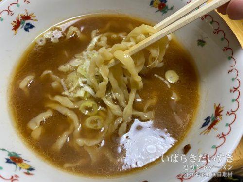 松屋製麺所 太ちぢれ麺 / 味噌