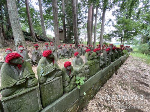 瑞祥院の五百羅漢像