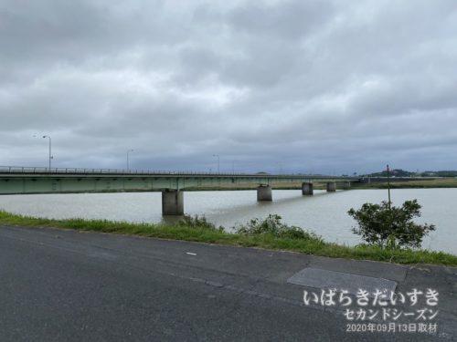 利根川 常総大橋。