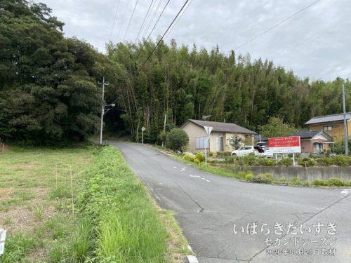 霞ヶ浦から離れ、小美玉市高崎方面へ入っていきます。