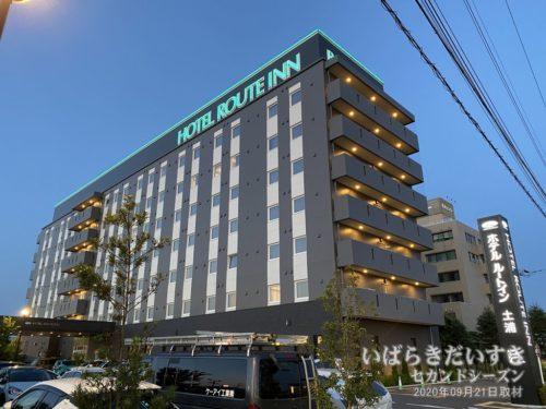 ホテルルートイン土浦 / 2019年にOPENしたばかり。