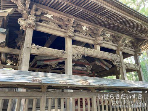 一ノ矢八坂神社 神殿(さや堂)
