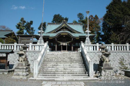 神峰神社 拝殿