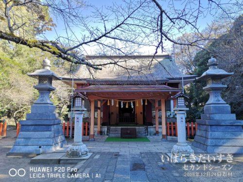 息栖神社 拝殿