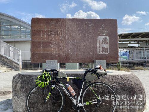 輪行で常磐線JRひたち野うしく駅に来ました。