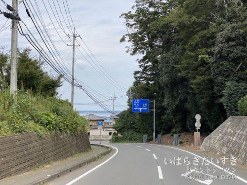 今回の自転車旅、初めての霞ケ浦!