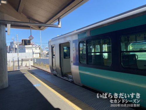 水郡線常陸太田駅は盲腸駅。