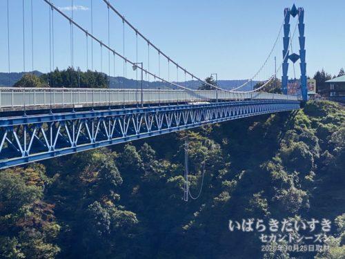 竜神大吊橋 バンジージャンプ