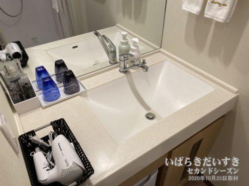 洗面台まわり:ドーミーインホテル水戸