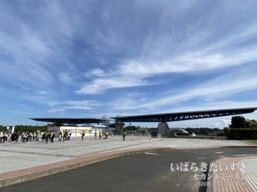 国営ひたち海浜公園 西口。