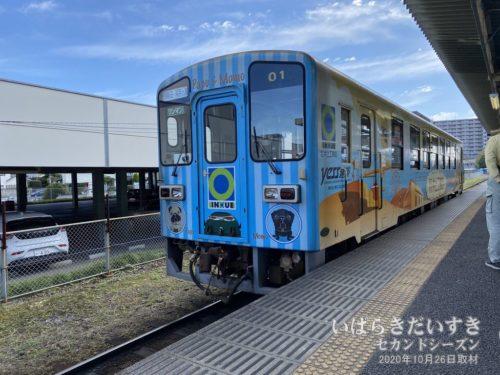 勝田駅からひたちなか海浜鉄道が出発します。