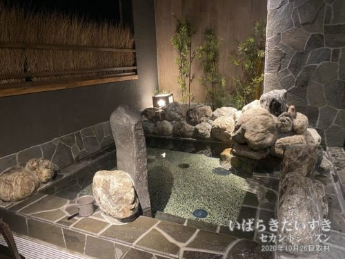 露天風呂:ドーミーイン水戸