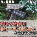 【加波山から足尾山】一本杉峠 一帯で道に迷う、の巻~筑波連峰を縦断する旅20