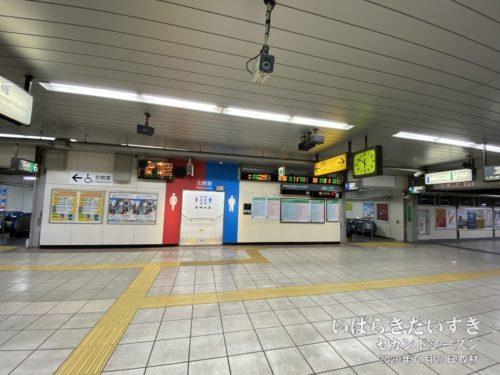 朝06時前。JR我孫子駅に到着。