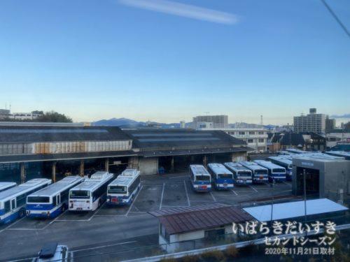 まもなく土浦駅。