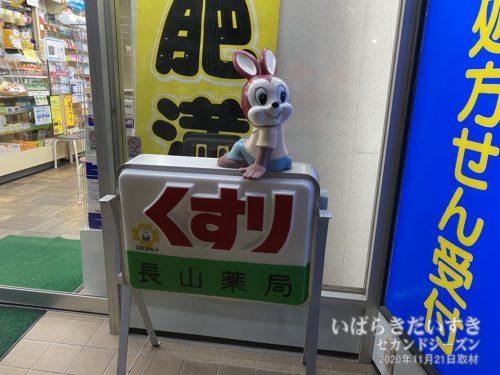 JR常陸多賀駅前の長山薬局にて。