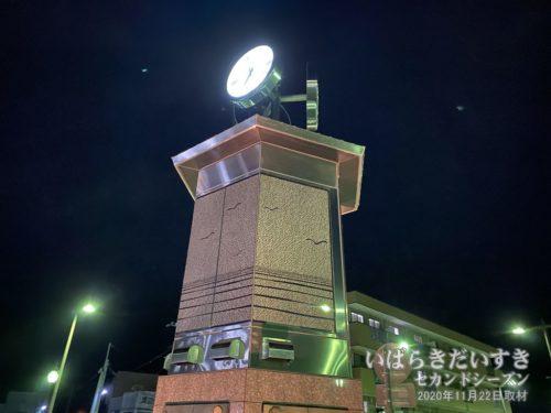 JR磯原駅前 からくり時計。