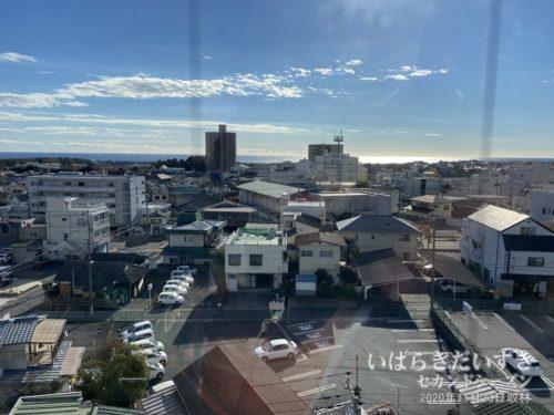 今日も良い天気の常陸多賀市街地。