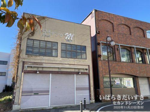 JR常陸多賀駅前では居酒屋の撤退を確認。