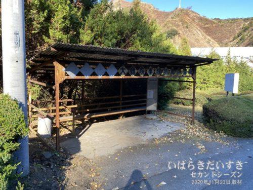 日立鉱山電気鉄道 終着駅の大雄院駅。