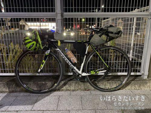 水郡線JR常陸太田駅に到着。