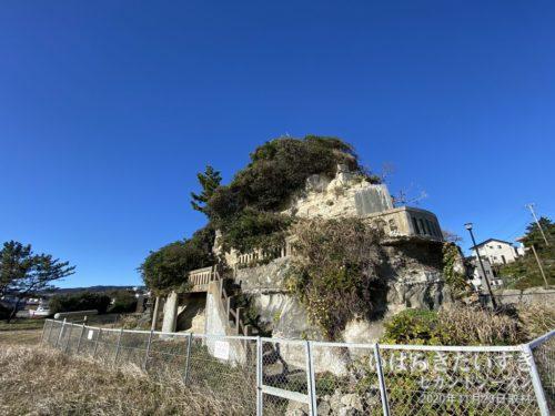 茨城百景 包含風景 烏帽子岩