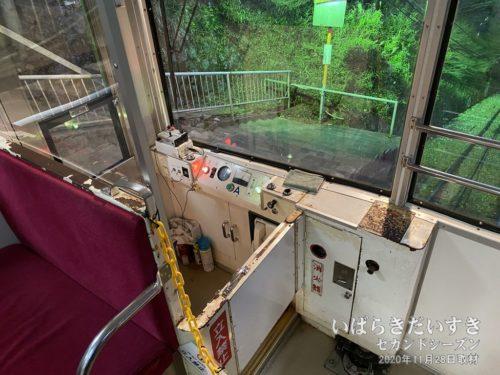 筑波山ケーブルカー。何年かに一度、乗車するなぁー。
