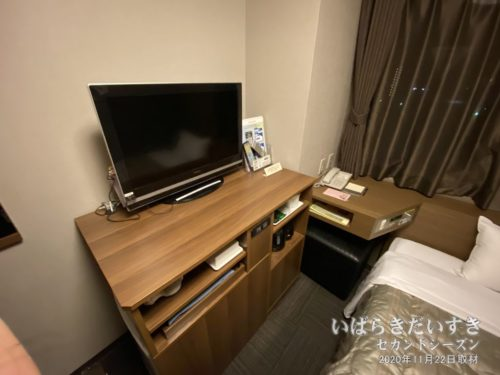 シングルルーム:ホテルルートイン日立多賀