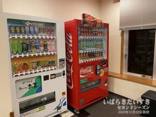 清涼飲料水の自販機。