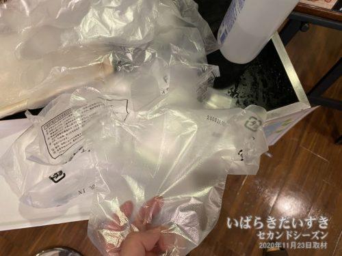 使い捨て手袋:ホテルルートイン日立多賀