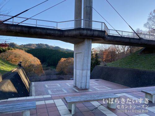 見渡しの良い「ときめき橋」付近も入念に探す。