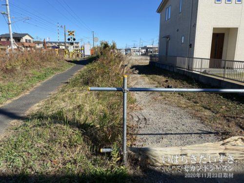 水戸、大甕方面から日立駅方面を望む。