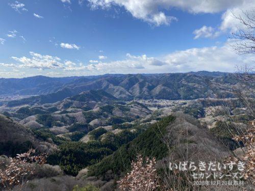 鍋転山 第一展望台からの眺め。