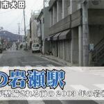 昔の岩瀬駅~駅前が整備される前の2003年の岩瀬駅周辺