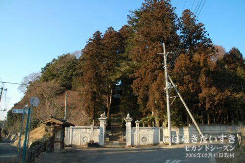 無量寿寺 全景。
