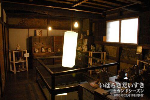 満寿庵たちかわ 2階。(2006年02月撮影)