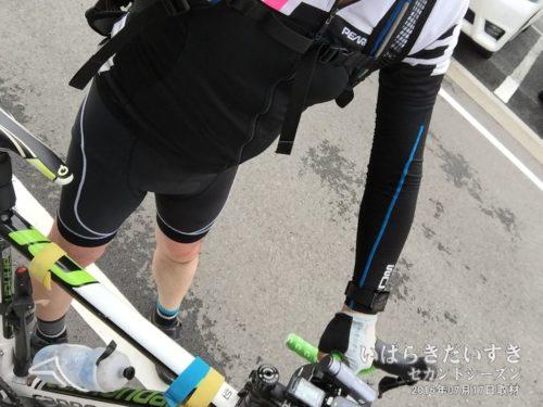 ロードバイクで八木沢ダムに行く!