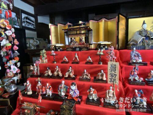 潮田家 | 昭和時代初期のひな人形