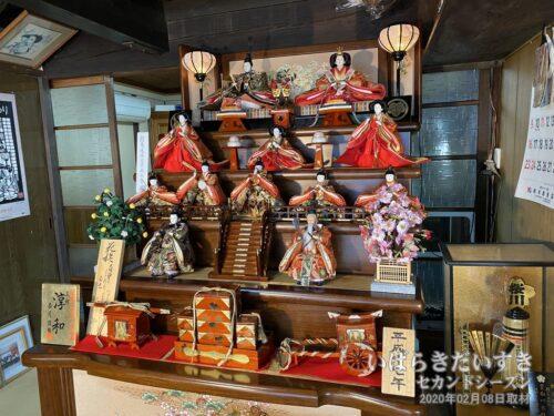 白川菓子店のひな人形(平成17年 制作)