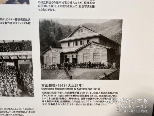 本山劇場。(日鉱記念館 引用)