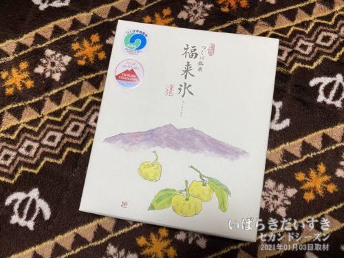 つくば銘菓 福来氷(ふくれごおり)
