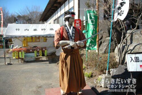 ガマの油売りの人形。(2005年撮影)