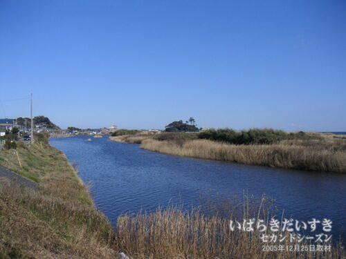 大北川(2005年撮影)/ やぼったい風景が良い風景でした。