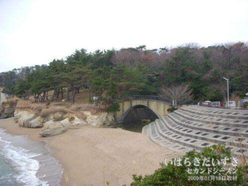 伊師浜海岸。