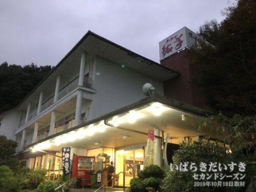 ホテル鮎亭。ご自身の台風被害の中、宿泊させていただきました。