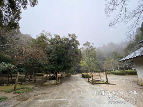 鹿島神宮 御手洗公園 鳥居跡。(2020年01月撮影)
