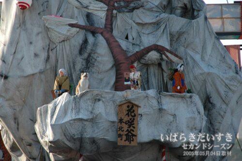北町 裏山:風流花咲爺 (2005年Ver.)