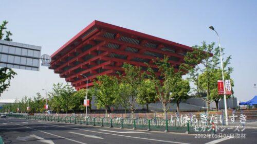 『中国館』として利用されたパビリオン。