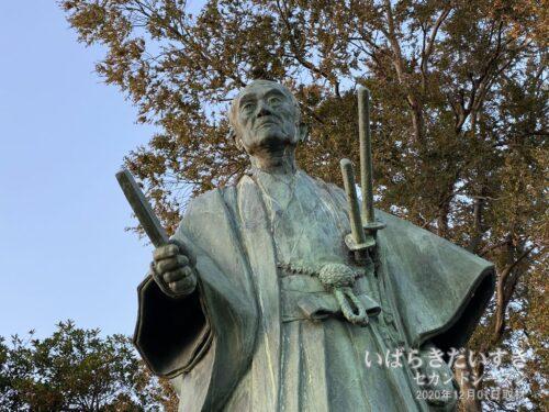 井澤弥惣兵衛為永 像。