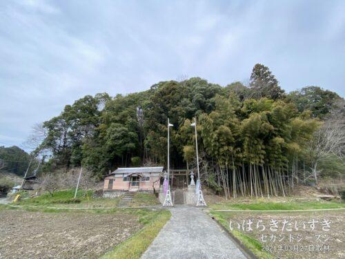 諏訪神社(茨城県久慈郡大子町久野瀬)